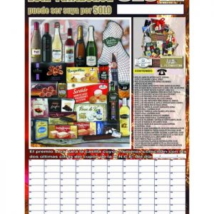 Cartel cestas de navidad para sortear 27 A