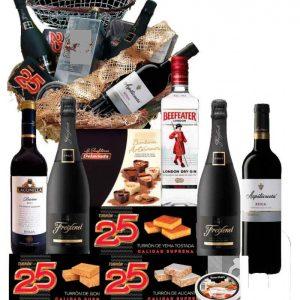Cesta de navidad delicatessen 24b